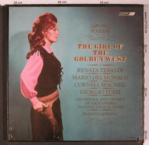 Puccini,Giacomo: The Girl of the Golden West, Box, London ffrr(OSA 1306), UK/US, co,  - LP - L8684 - 17,50 Euro