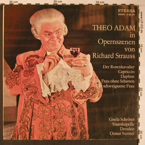 Adam,Theo: In Opernszenen von Richard Strauss, Eterna(8 26 097), DDR, 1974 - LP - L8704 - 5,00 Euro