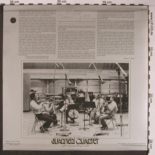 Schubert,Franz: Quintet In C Major Op.163,D.956,Foc, RCA(ARL1-1154), US, CO, 1975 - LP - L8785 - 9,00 Euro