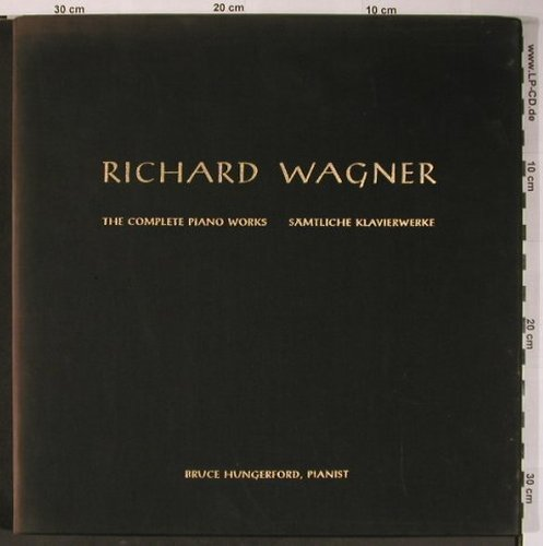 Wagner,Richard: The Complete Piano Works,Box, Bayreuth Festival Master(LO8P-5179), US/D, 1961 - 2LP - L8803 - 13,00 Euro