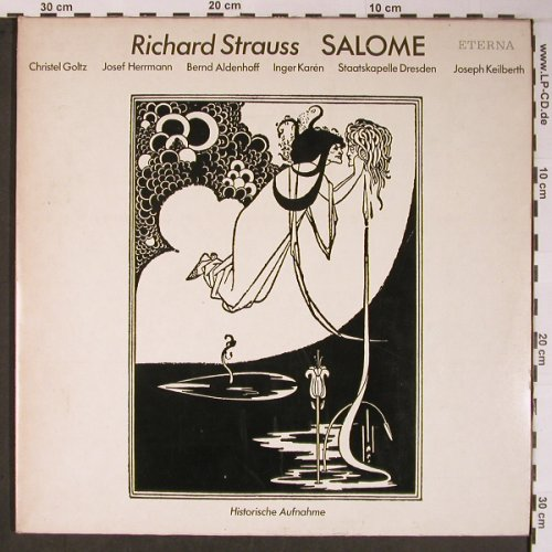 Strauss,Richard: Salome op.54,Foc, vg+/vg+, Eterna(8 22 868-869), DDR, Ri, 1985 - 2LP - L8848 - 9,00 Euro