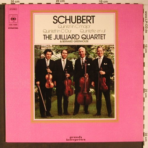 Schubert,Franz: Quintet In C Major Op.163,D.956,Foc, CBS(CBS 76268), NL, 1974 - LP - L8888 - 7,50 Euro