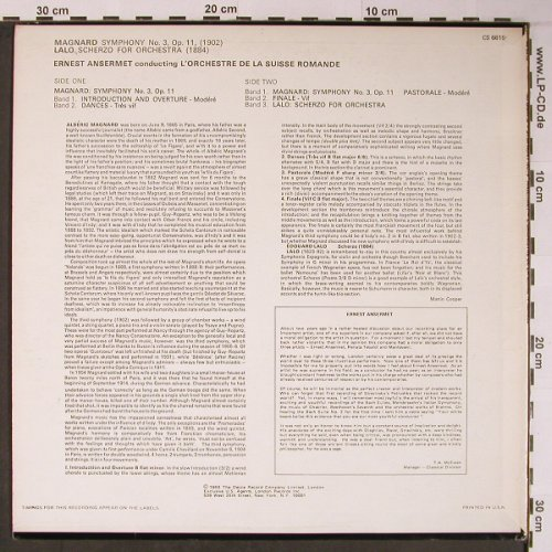 Ansermet,Ernest: Memorial Album, London ffrr(CS 6615), US,vg+/vg+, 1969 - LP - L8905 - 14,00 Euro