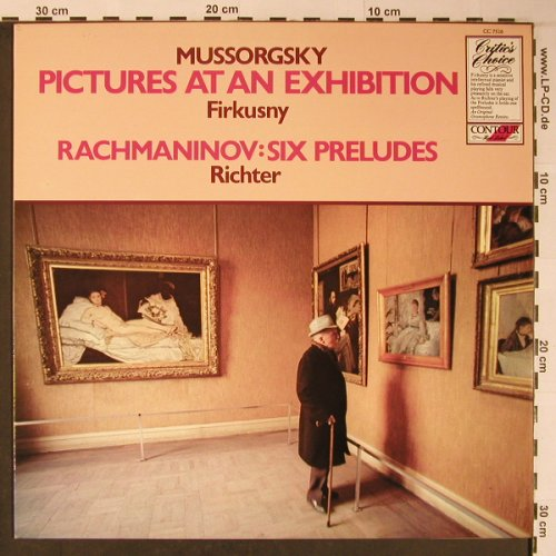Mussorgsky,Modest/Rachmaninov: Pictures From an Exhibition/SixPrel, Contour(CC 7516), UK,Ri, 1981 - LP - L8911 - 9,00 Euro