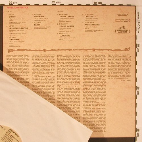 Pertile,Aurelio: Historical Archives, EMI(053-00808), I,  - LP - L8924 - 9,00 Euro