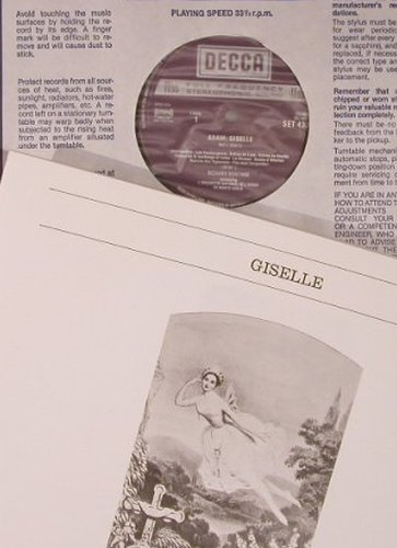 Adam,Adolphe: Giselle, Box, Decca(SET 433-4), NL/UK, 1970 - 2LP - L9026 - 12,50 Euro