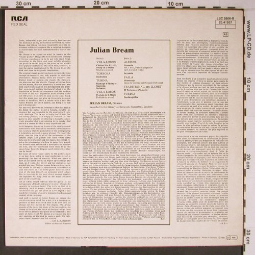 Bream,Julian: Popular Classics f.Spanish Guitar, RCA(26.41057), D, Ri 1964,  - LP - L9104 - 7,50 Euro