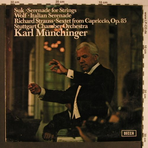 Suk,Josef / Wolf / R.Strauss: Serenade for Strings, m-/vg+, Decca(SXL 6533), UK, 1971 - LP - L9168 - 7,50 Euro