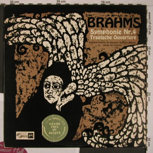 Brahms,Johannes: Symphony No.4 in E minor op.98,op81, Concert Hall(M-2249 A), ,  - LP - L9242 - 9,00 Euro