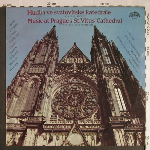 V.A.Music at Prague's St.Vitus Cath: in the 18th and 19th Century,m-/vg+, Supraphon(1112 3357 H), CZ, 1983 - LP - L934 - 5,00 Euro