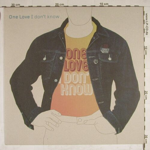 One Love: I Don't Know*4, kontor(Kontor 152), D, 01 - 12inch - A8196 - 4,00 Euro