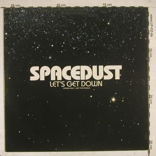 Spacedust: Let's Get Down*2,Promo, EW(SAM00057), D,  - 12inch - A8543 - 4,00 Euro