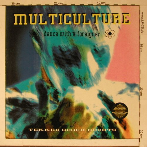V.A.Multiculture: Dance With a Foreiger, SPV(008-13231), D, 91 - LP - B5846 - 6,00 Euro