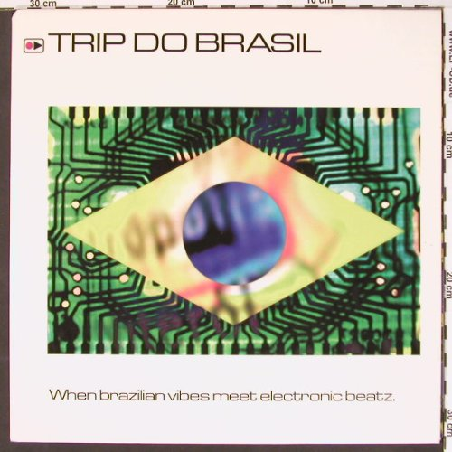 V.A.Trip do Brazil: When Brazilian vibes m. elctr.Beatz, Krypton(col491115), NL, 98 - 2LP - B8001 - 10,00 Euro