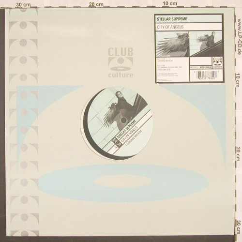 Stellar Supreme: City Of Angels*3,Flc, ClubCultur(), D, 01 - 12inch - B8720 - 3,00 Euro