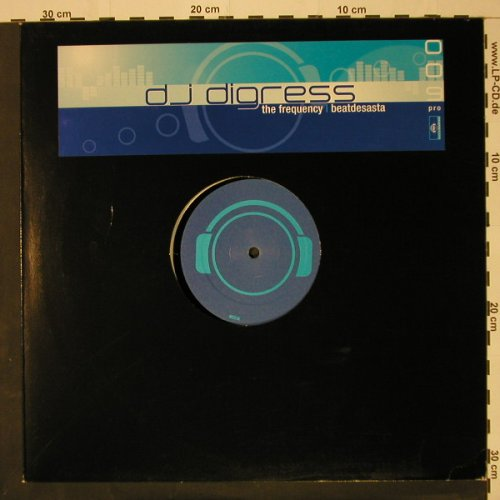 DJ Digress: The Frequency*2+2, MentalMadn(), D, 02 - 12inch - B8809 - 3,00 Euro