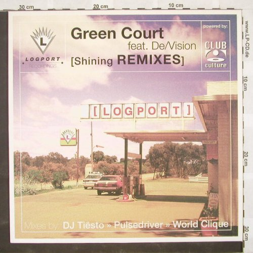 Green Court feat.De/Vision: (Shining Remixes)*3, Logport(), D, 00 - 12inch - B9170 - 3,00 Euro