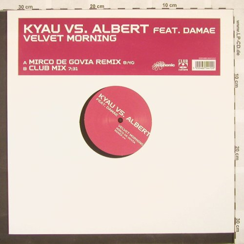 Kyau vs.Albert feat.Damae: Velvet Morning*2,LC, ClubCultur(), D, 03 - 12inch - B9206 - 3,00 Euro