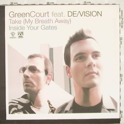 Green Court feat.De/Vision: Take(My Breath Away)*2+1, Logport(DMD LOG2005), D, 01 - 12inch - B9404 - 4,00 Euro