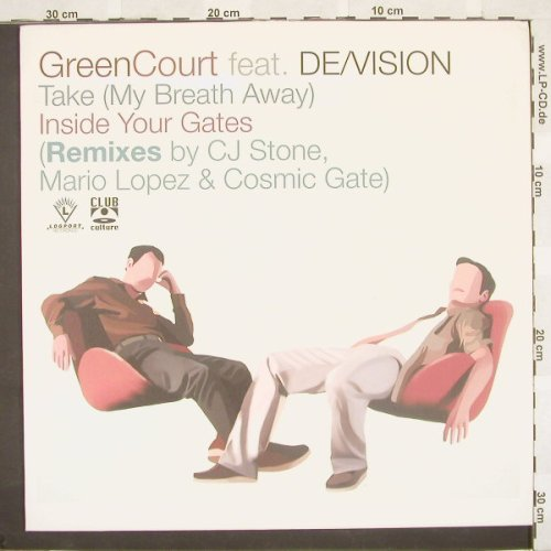 Green Court feat.De/Vision: Take(My Breath Away)*2+1, Logport(DMD LOG2005-R1), D, 01 - 12inch - B9405 - 4,00 Euro