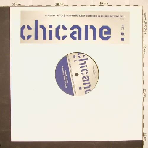 Chicane: Love On The Run*2, Promo, LC, WEA(PRO 3738), D, 02 - 12inch - B9464 - 4,00 Euro
