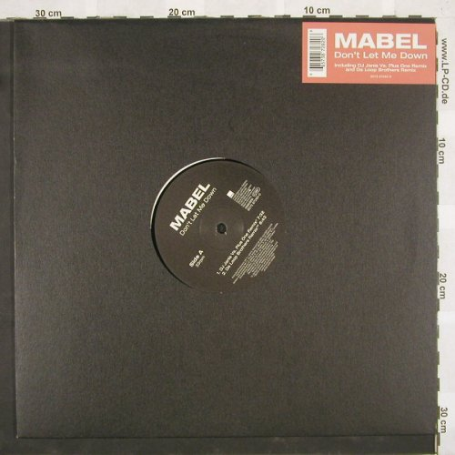 Mabel: Don't Let Me Down*4,LC, WEA(), D, 00 - 12inch - B9554 - 3,00 Euro