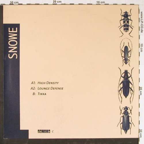 Snowe: High Density+2, Payola(), D,  - 12inch - E1969 - 4,00 Euro