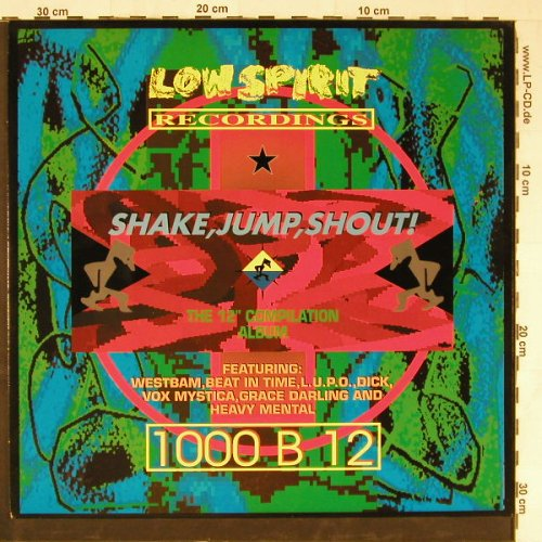 "V.A.Low Spirit: Shake,Jump and Shout !,12""comp., Low Spirit(843 629-1), D, 1990 - LP - E3098 - 5,00 Euro"