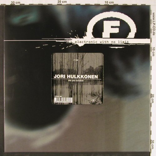 Hulkkonen,Jori: We are invisible,3Tr., F Communications(), F, 2000 - 12inch - E3194 - 4,00 Euro