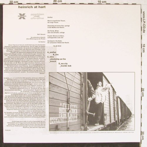 Heinrich at Hart: Sintflut, Force Inc(06083-1), F, 1998 - 2LP - E3331 - 12,50 Euro