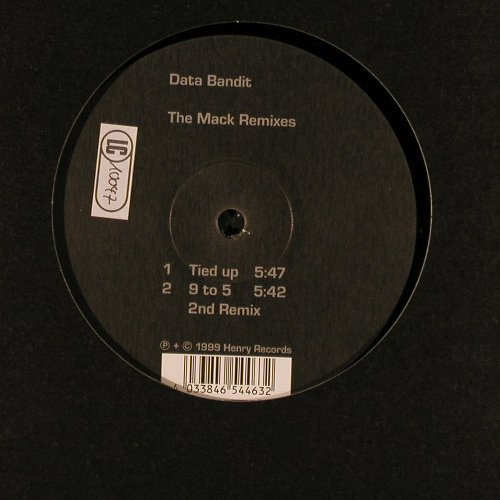 Data Bandit: The Mack Remixes,4 Tr.,LC, Henry Rec.(), D, 1999 - 12inch - E3791 - 2,50 Euro