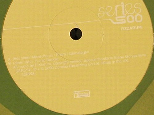 Fizzarum: Series 500 EP,4 Tr., Domino(), UK, 2000 - 12inch - E4125 - 5,00 Euro