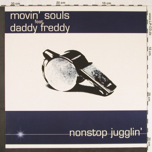 Movin'Souls feat. Daddy Freddy: Nonstop Jugglin'*6, Sony(664592), NL, 1997 - 12inch - E449 - 2,50 Euro