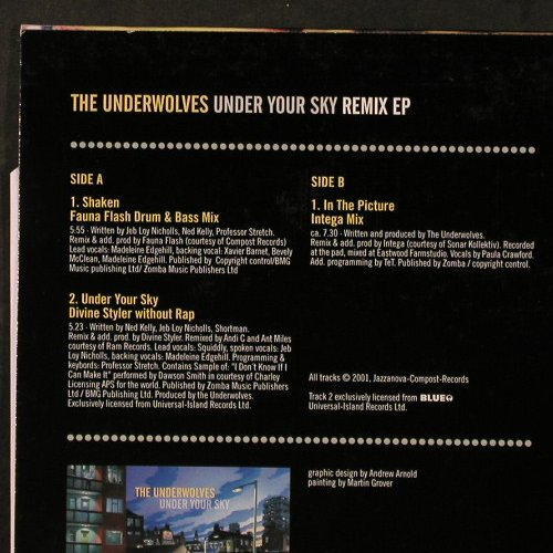 Underwolves, the: Under your skin ,Remix EP, Jazzanova(667548507417), , 2001 - 12inch - E6607 - 4,00 Euro