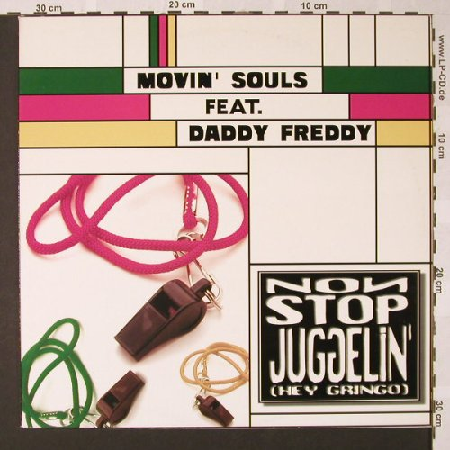 Movin'Souls feat. Daddy Freddy: Nonstop Jugglin'*8, DancePool(663505 6), NL, 1996 - 12inch - E7740 - 4,00 Euro