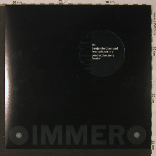 Diamond,Benjamin/Connective Zone: Inner Circle part 1, Kompakt(001), D,  - 12inch - F2119 - 5,00 Euro