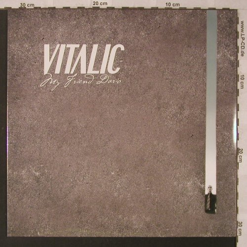 Vitalic: My Friend David, FS-New, Different(451.1042.130), EU, 2005 - 12inch - F2122 - 5,00 Euro