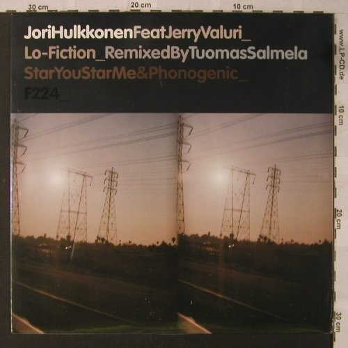 Hulkkonen,Jori: Lo-Fiction*4, FS-New, F Communications(F224), , 2005 - 12inch - F2126 - 5,00 Euro