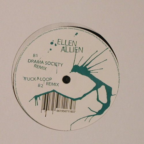 Ellen Allien: Down rmxs, LC, Part 3, Bpitch Control(BPC 116), EU, 2005 - 12inch - F2206 - 5,00 Euro