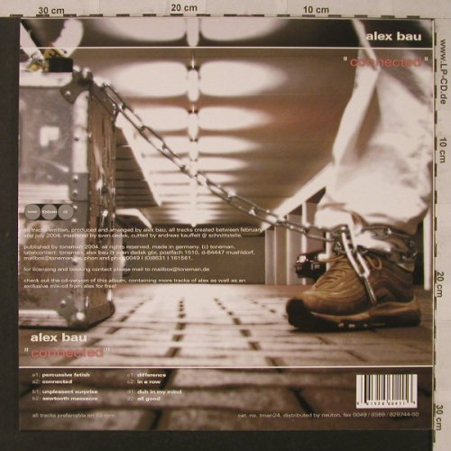 Bau,Alex: Connected, Toneman(tman24), D, 2005 - 2LP - F2528 - 15,00 Euro