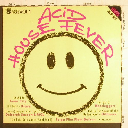 V.A.Acid House Fever Vol.1: Inner City...Deborah Sasson&MCL, EMI(7 91953 1), EEC,m-/vg+,  - 2LP - F8820 - 6,00 Euro
