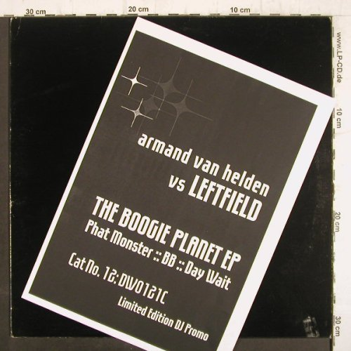 Van Helden,Armand vs Leftfield: The Boogie Planet EP,Lim.DJPromo, (DWO121C), LC,  - 12inch - F8837 - 7,50 Euro