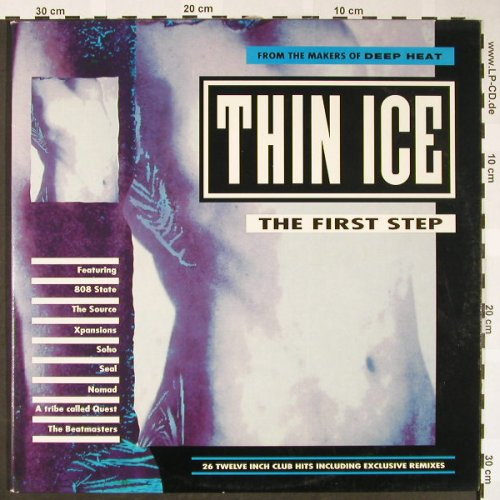 V.A.Thin Ice: The First Step, Foc, Telstar(STAR2500), UK, 1991 - 2LP - H1713 - 7,50 Euro