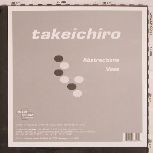 Takeichiro: Abstractions / Vass, Plusquam(56352-6), D, 2000 - 12inch - H9731 - 4,00 Euro