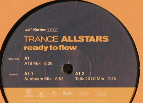 atb / Sunbeam / Talla 2XLC: ready to flow, Kontor(102), D, 2000 - 12inch - X1728 - 4,00 Euro