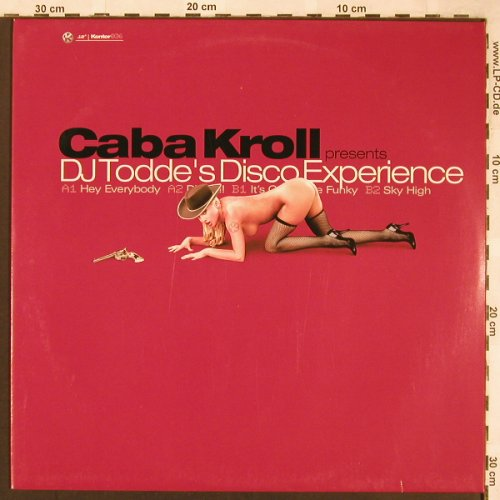 DJ Todde's - Caba Kroll pres.: Hey Everybody+3, Kontor(036), D, 1999 - 12inch - X1729 - 4,00 Euro
