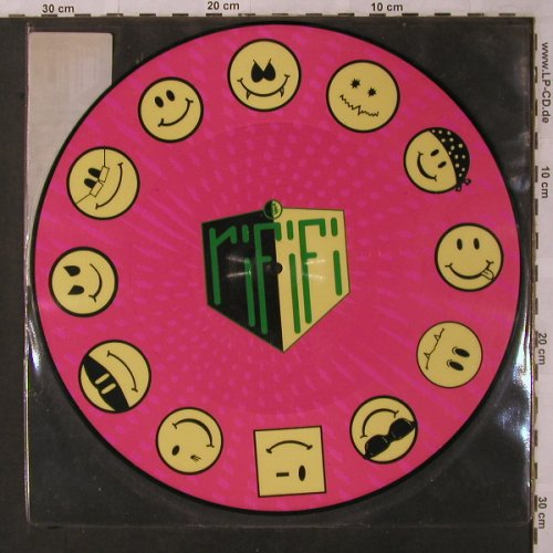 "Rififi: Acid..SmileyDr.acid+Mr.House, BCM(17148), D,vg+/vg+,  - P12"" - X3020 - 4,00 Euro"