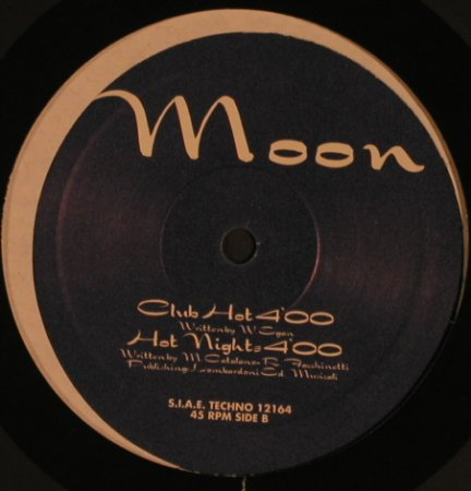 Moon: Hot Summer Night*4, Discomagic(12164), I, 1993 - 12inch - X6932 - 5,00 Euro