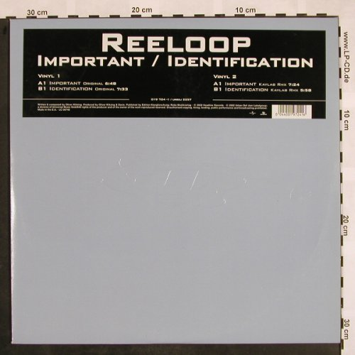 "Reeloop: Important / Identification, Urban(019 724-1), EU, 2002 - 12""*2 - X876 - 5,00 Euro"