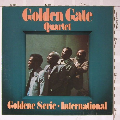 Golden Gate Quartet: Goldene Serie International, EMI(64 973), D,  - LP - B3769 - 3,00 Euro